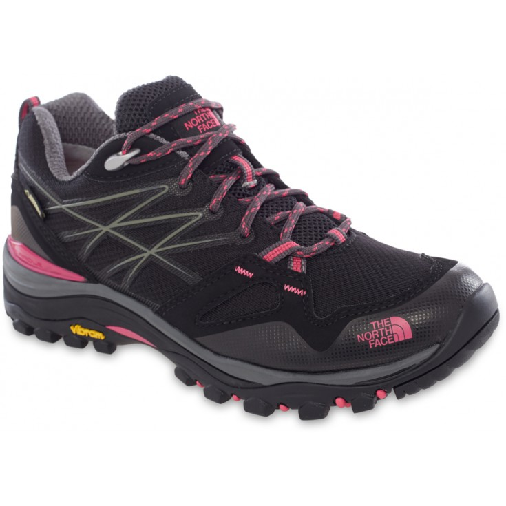Chaussures basse Gore-Tex femme Hedgehog FastPack GTX noir-rose The North Face