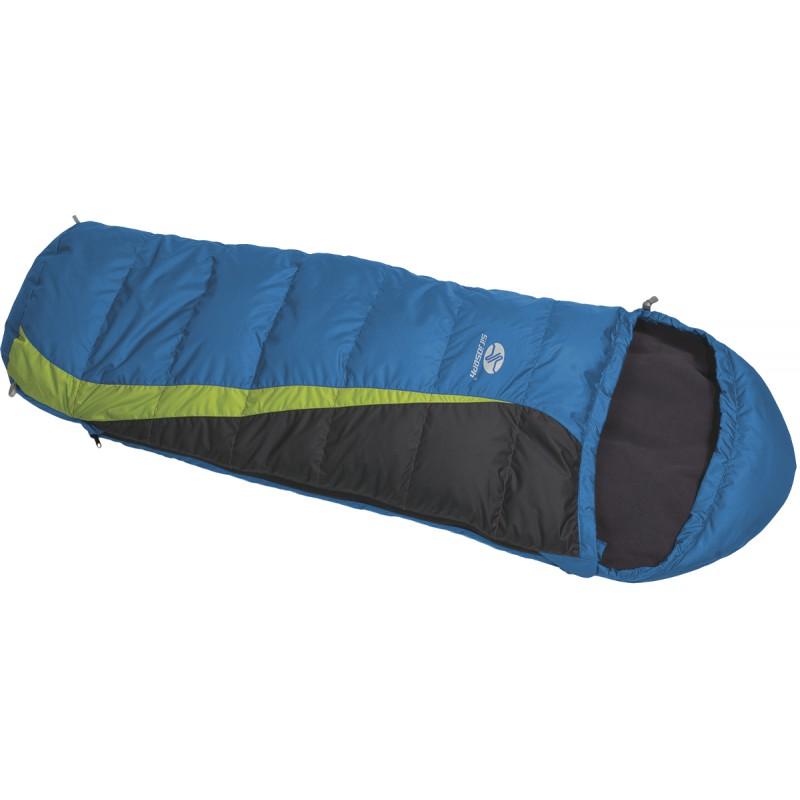 sac de couchage enfant plume kiki down 85cm bleu sirjoseph montania sport. Black Bedroom Furniture Sets. Home Design Ideas