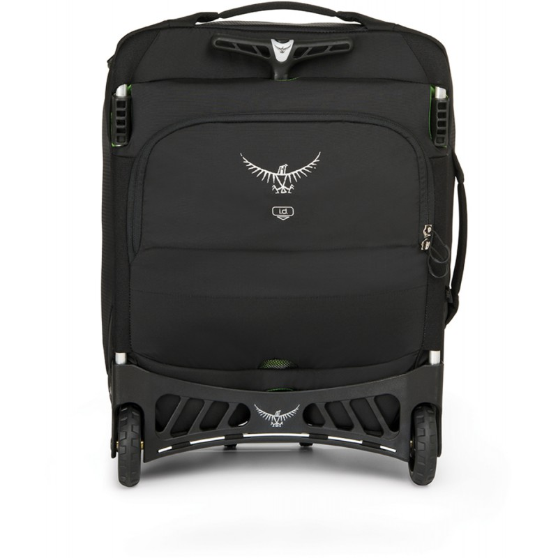 valise roulettes ozone 36 noire black osprey montania. Black Bedroom Furniture Sets. Home Design Ideas