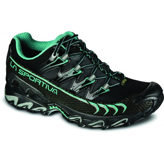 Chaussure basse femme Gore-Tex Ultra Raptor GTX black-turquoise LaSportiva