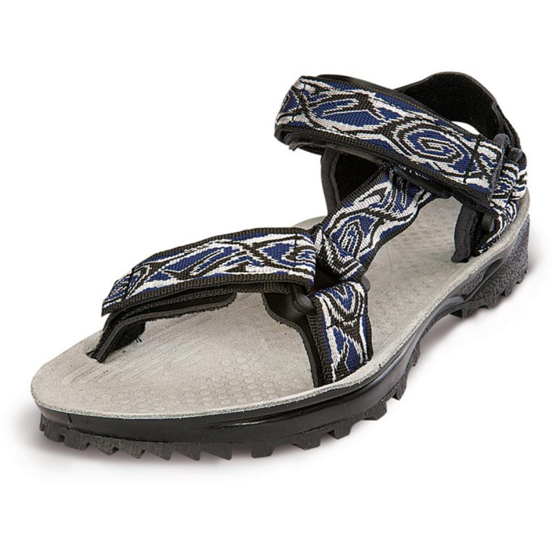 sandale de randonn e homme terra trek bleu triop montania sport. Black Bedroom Furniture Sets. Home Design Ideas
