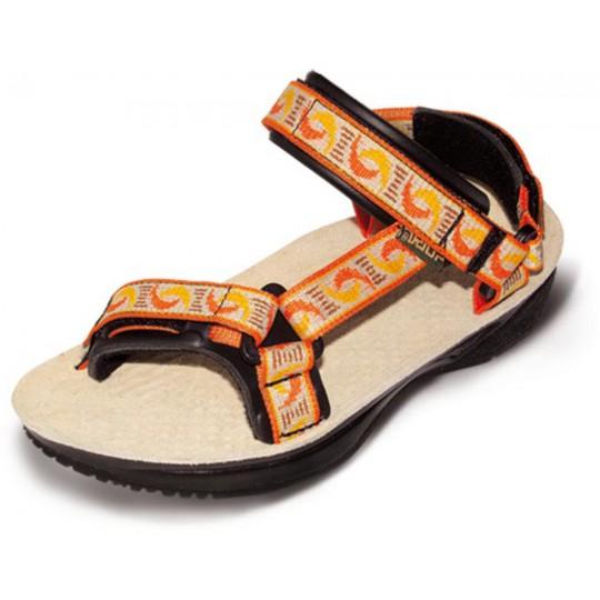 Sandale de randonnée femme Terra Lady orange 02 Triop