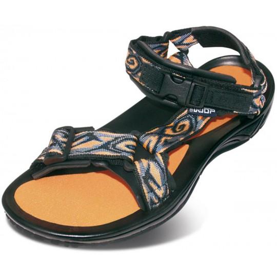 Sandale de randonnée Aqua noir-orange Triop