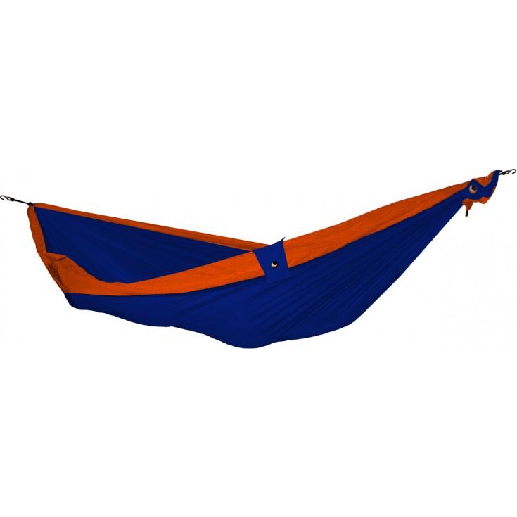 Hamac double bicolore bleu roi orange tickettothemoon montania sport - Hamac ticket to the moon double ...