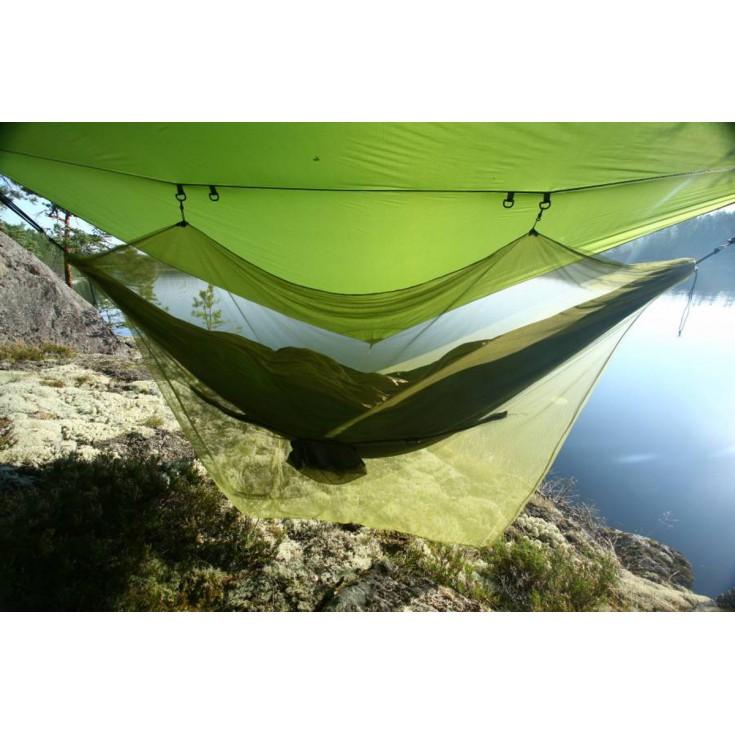 Moustiquaire de Hamac Mosquito Net 360 vert kaki TicketToTheMoon