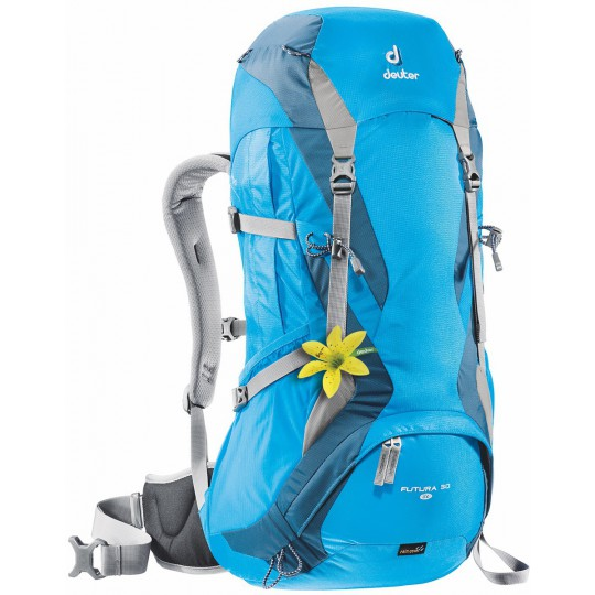 Sac à dos femme Futura 30 SL bleu artic-turquoise Deuter