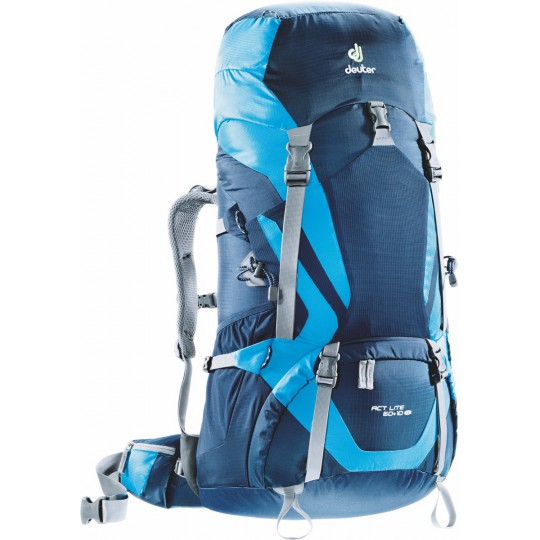 Sac à dos femme ACT Lite 60+10 SL bleu nuit-turquoise Deuter