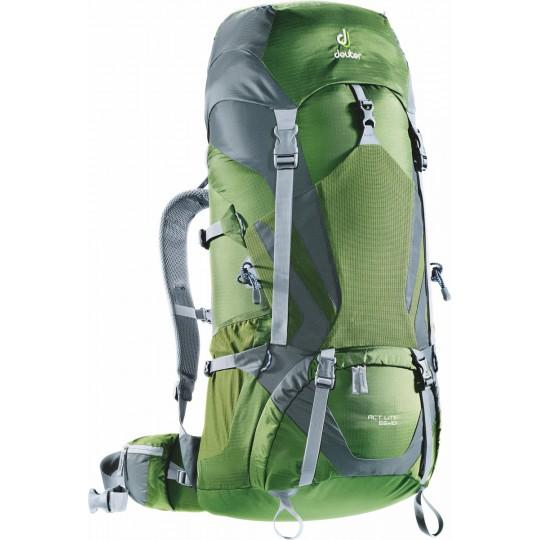Sac à dos ACT Lite 65 +10 vert-granite Deuter