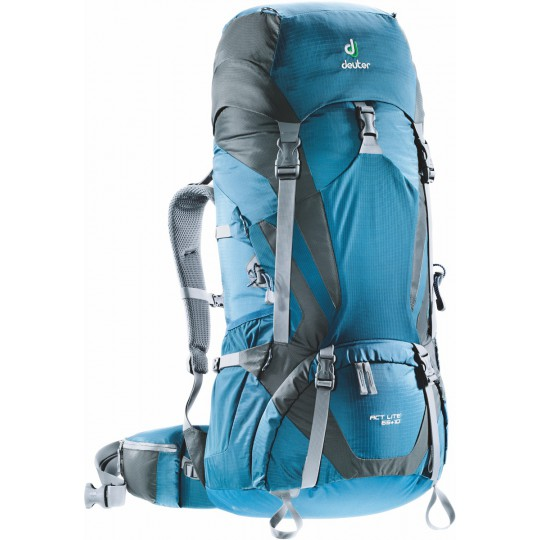 Sac à dos ACT Lite 65 +10 bleu-granite Deuter