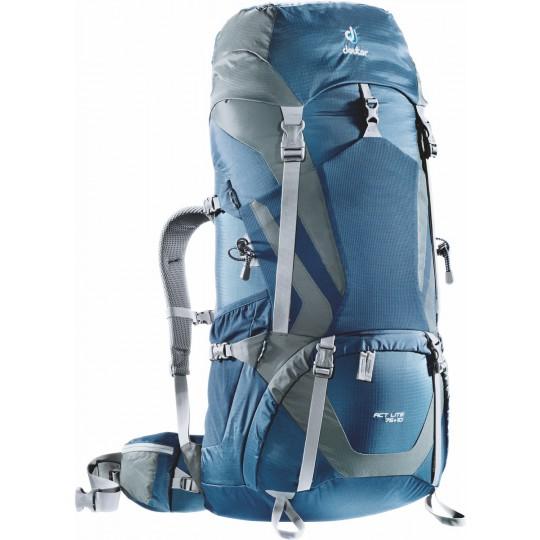 Sac à dos ACT Lite 75 +10 bleu nuit-granite Deuter