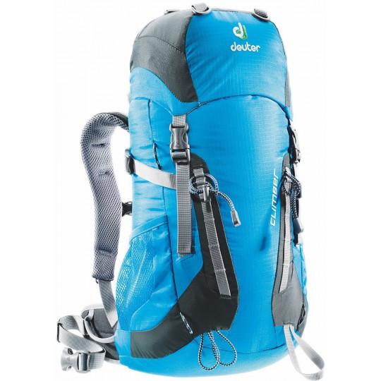 Sac à dos enfant Climber 22 bleu turquoise-granit Deuter