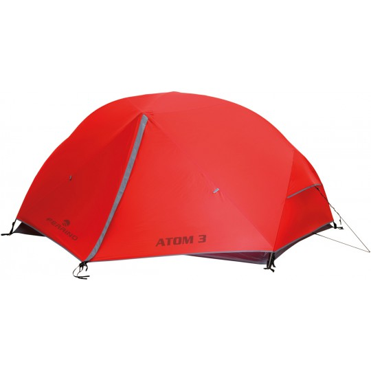 Tente Atom 3 rouge Ferrino