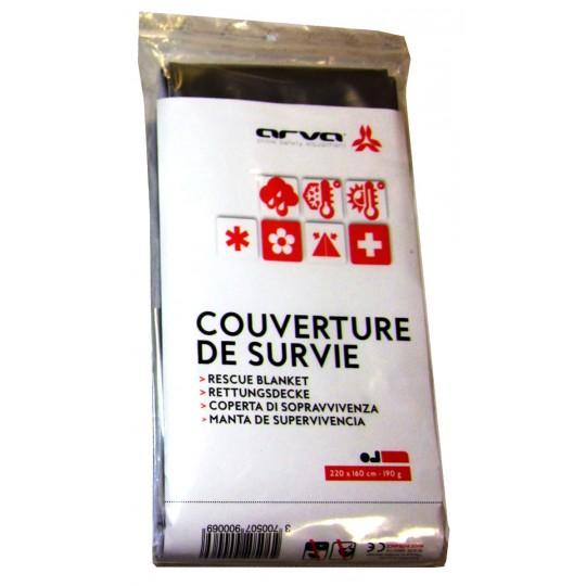 Couverture de Survie argent 190g Arva Equipment