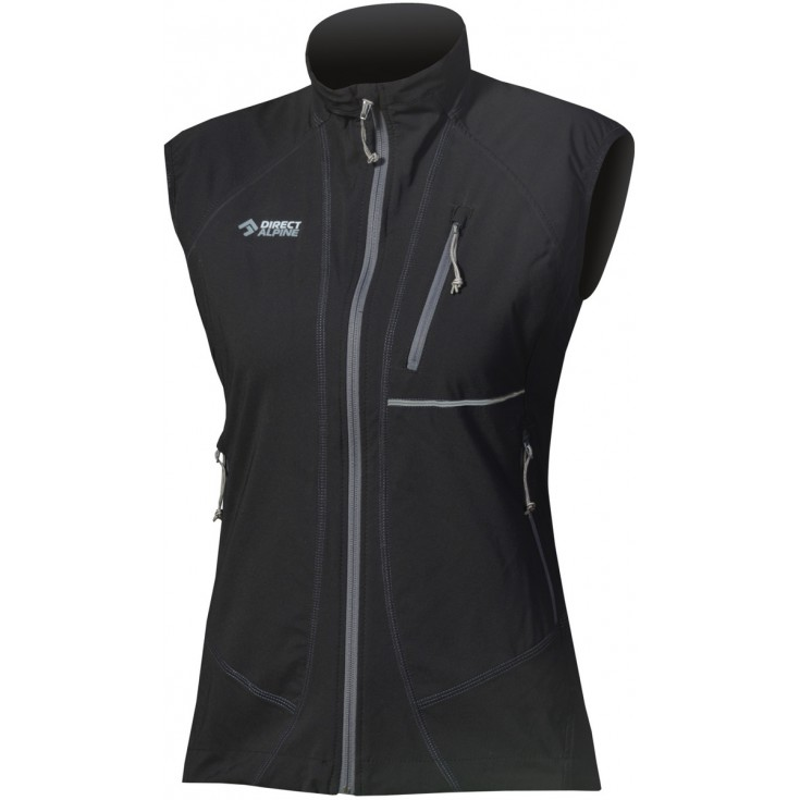 veste softshell sans manches femme attack lady 2 0 jacket noir directalpine montania sport. Black Bedroom Furniture Sets. Home Design Ideas