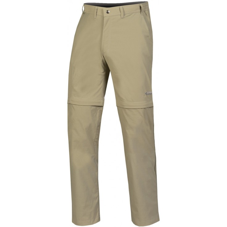 Pantalon de randonnée convertible homme BEAM ZIP OFF PLUS beige Directalpine
