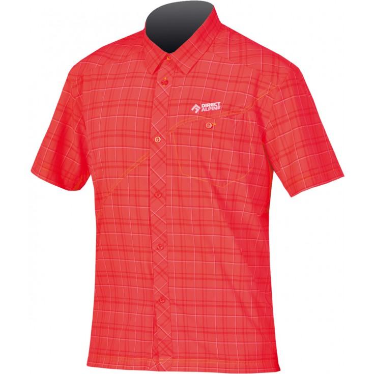 Chemise de randonnée homme RAY 3.0 rouge Directalpine