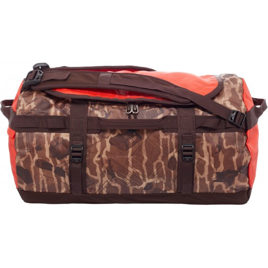Base Camp Duffel S Brunette Brown Print The North Face