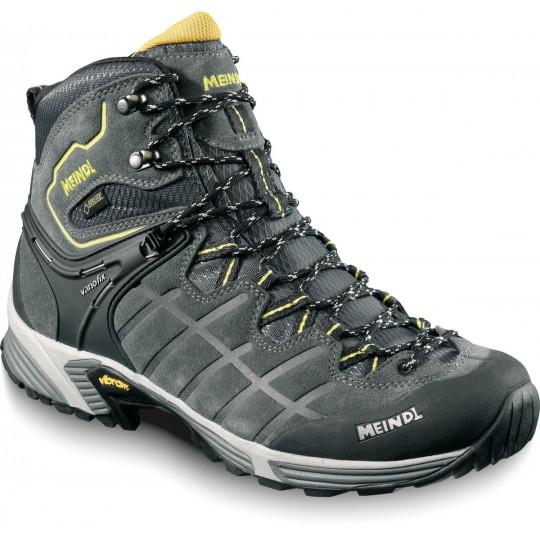 Chaussure de randonnée Gore-Tex homme Kapstadt GTX gris-jaune Meindl