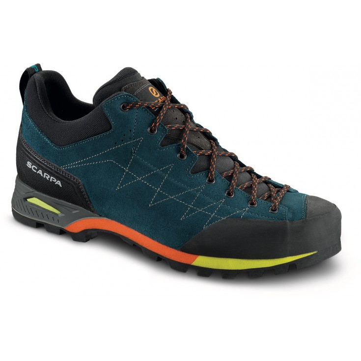 Chaussures Scarpa bleues homme Lfpoo