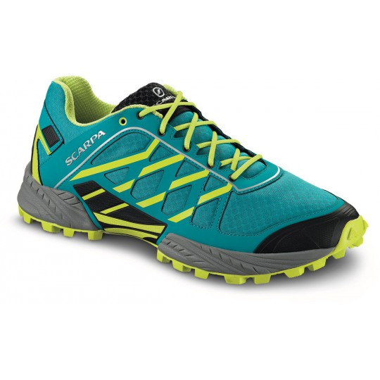 Chaussure basse homme Neutron Abyss-Lime Scarpa