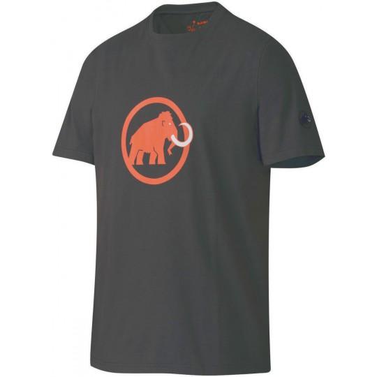 Tee-shirt coton biologique homme Original Logo graphite Mammut