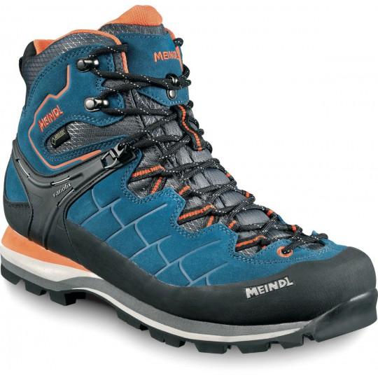 Chaussure de randonnée Gore-Tex homme Litepeak GTX bleu-orange Meindl