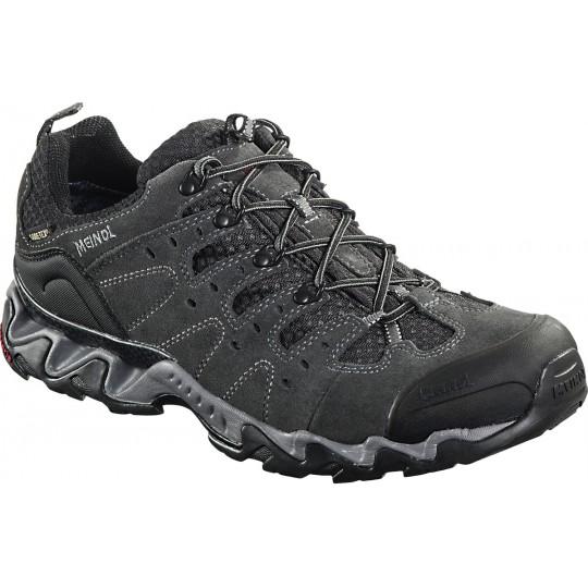 Chaussure de randonnée basse Gore-Tex homme Portland GTX anthracite Meindl