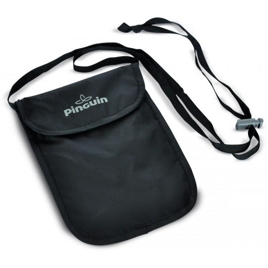 Pochette de voyage NECK SECURITY POCKET S noire Pinguin Outdoor Equipment