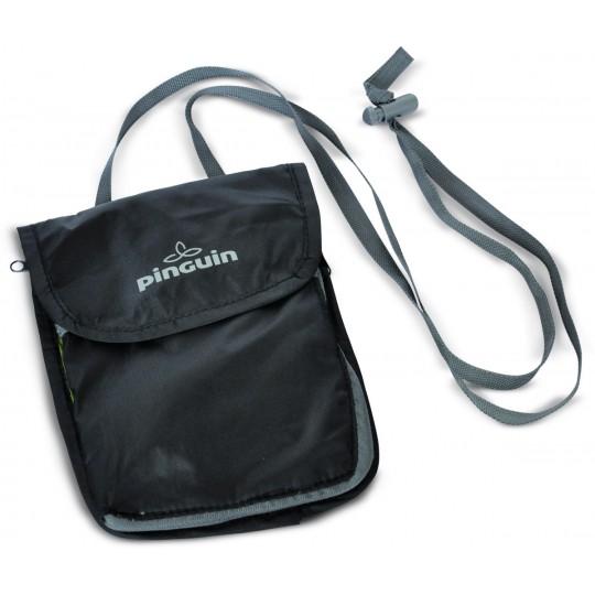 Pochette de voyage NECK SECURITY POCKET L noire Pinguin Outdoor Equipment