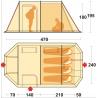 Tente de camping Chanty 4 Deluxe Ferrino