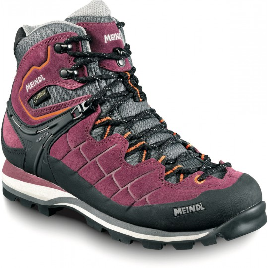 Chaussure de randonnée Gore-Tex femme Litepeak Lady GTX prune-gris Meindl