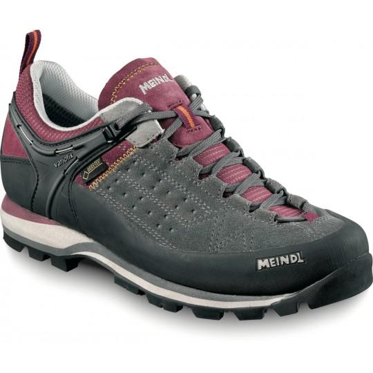 Chaussure de randonnée Gore-Tex femme basse Literock Lady GTX prune-gris Meindl