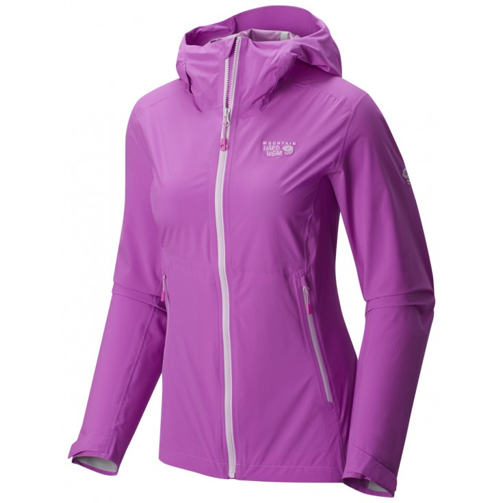Veste imperméable femme 2.5L Stretch Ozonic Jacket Woman Foxglove Mountain Hardwear