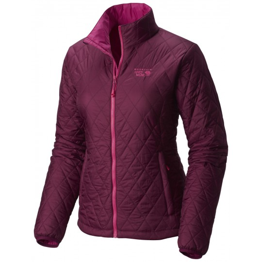 Doudoune synthétique femme Thermostatic Jacket dark-raspberry Mountain Hardwear