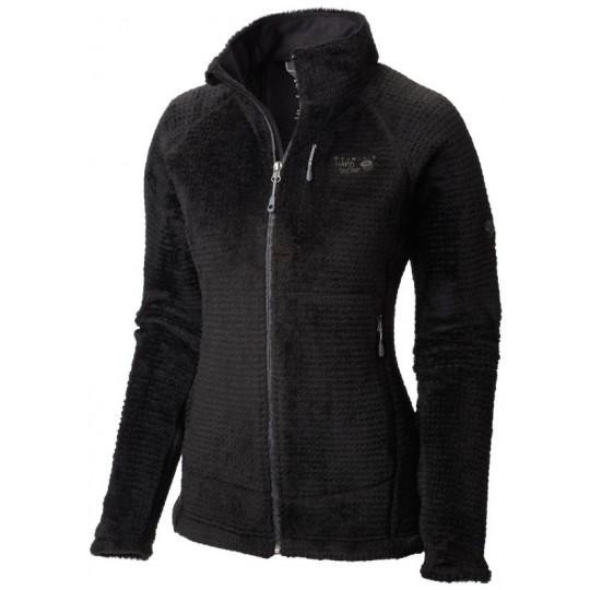 Polaire femme Monkey Woman Grid II jacket noire Mountain Hardwear