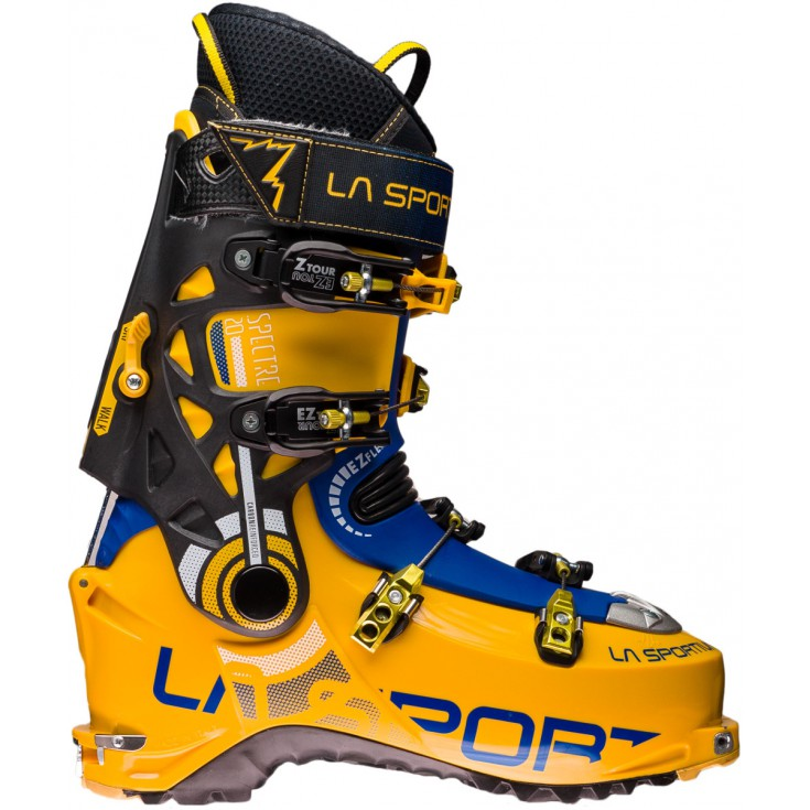 Chaussure ski de rando Spectre 2.0 jaune-bleu LaSportiva