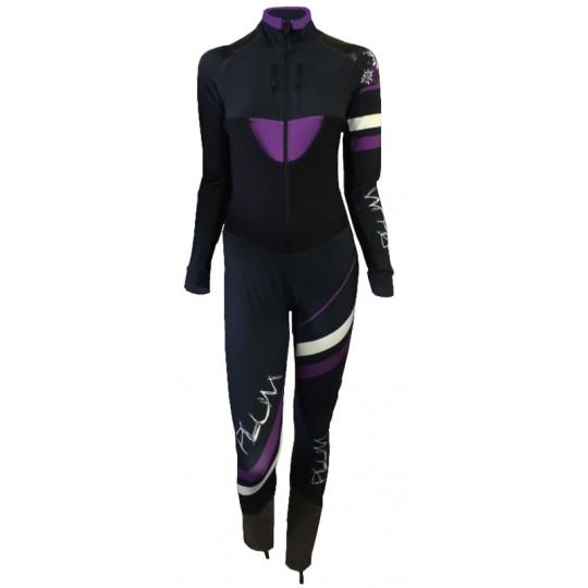 Combinaison Ski Alpinisme PLUM Femme noire-violette 2017