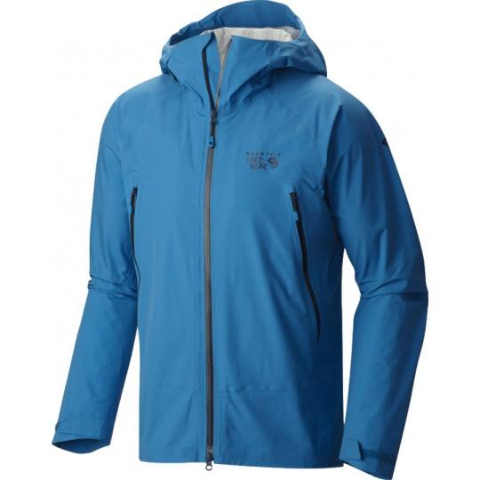 Veste imperméable homme Quasar Lite Jacket bleue Mountain Hardwear