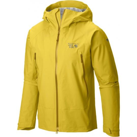 Veste imperméable homme Quasar Lite Jacket jaune Mountain Hardwear