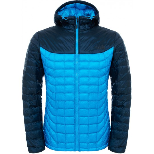 Doudoune à capuche Homme Thermoball Hoodie bleu Aster The North Face