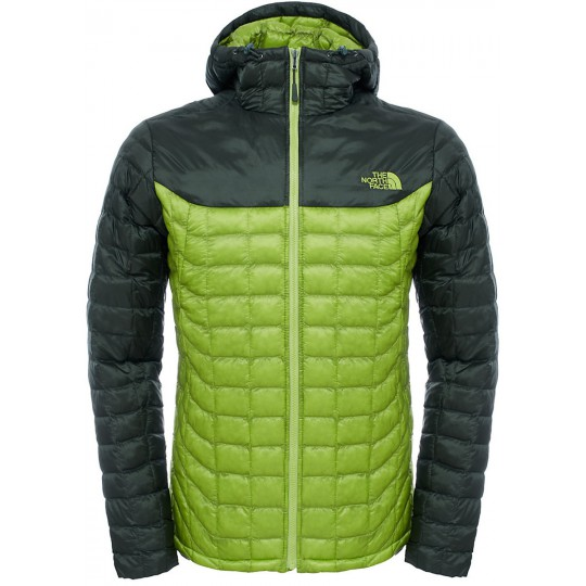 Doudoune à capuche Homme Thermoball Hoodie vert Chive Ivy The North Face