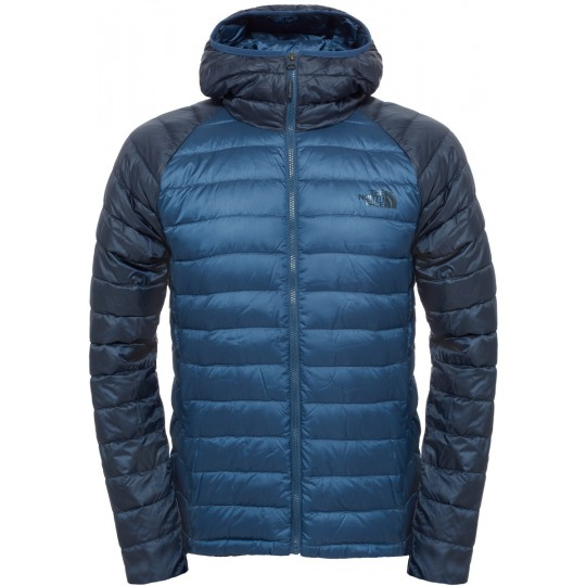Doudoune à capuche Homme Trevail Hoodie bleu Shady-Navy The North Face