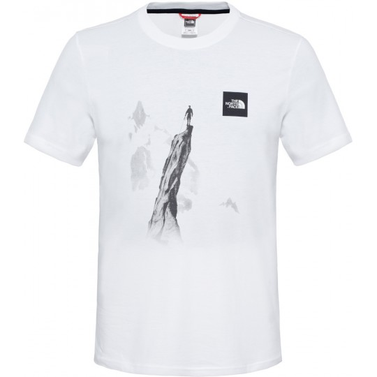 Tee shirt homme Week-End Tee blanc The North Face