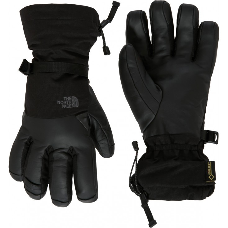 gants de ski gore tex kelvin noir tnf black the north face montania sport. Black Bedroom Furniture Sets. Home Design Ideas