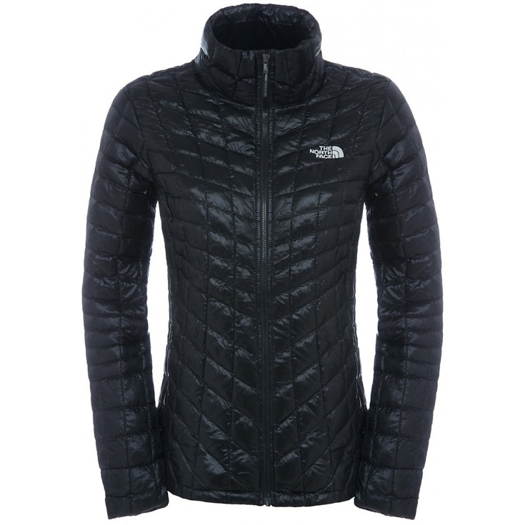 513fcf0269 Doudoune Femme Thermoball Full Zip Jacket noire TNF Black The North Face