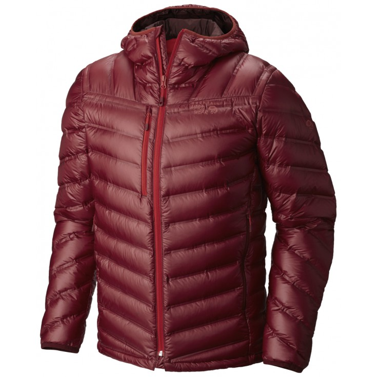 Doudoune à capuche StretchDown RS Hooded Jacket smolder red Mountain Hardwear