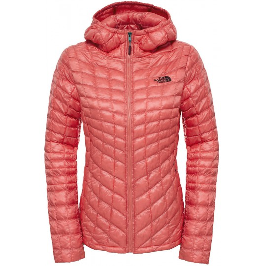 Doudoune à capuche Femme Thermoball Hoodie Spice Coral The North Face