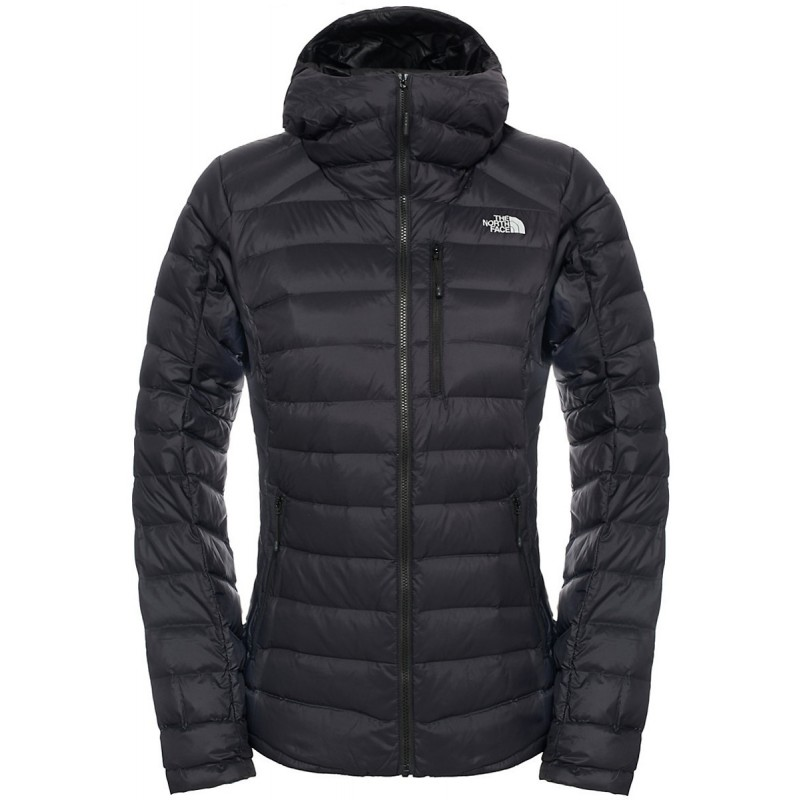 doudoune capuche femme w morph down hooded jacket noire the north face montania sport. Black Bedroom Furniture Sets. Home Design Ideas