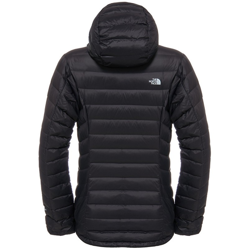 doudoune capuche femme w morph down hooded jacket noire the north face montania sport. Black Bedroom Furniture Sets. Home Design Ideas
