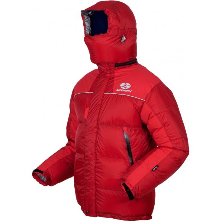 Doudoune expédition homme 8000 II Jacket rouge SirJoseph